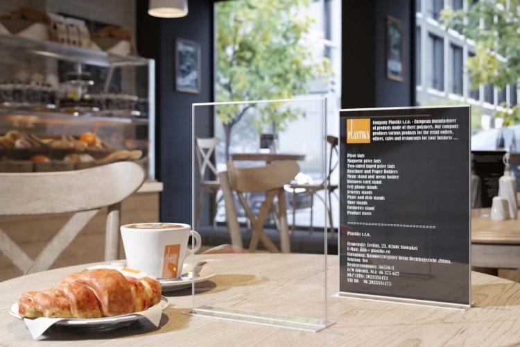 9 pr sentoir de comptoir support menu restaurant - Choses savoir sur lutilisation des couleurs en decoration ...